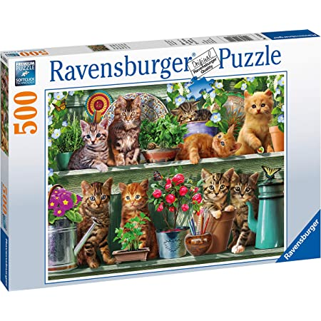Ravensburger 15037 Teacup Kitty 500 Piece Jigsaw Puzzle for Adults /& for Kids Age 10 and Up
