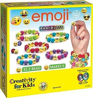 Creativity for Kids 6128000 Emoji Bracelets