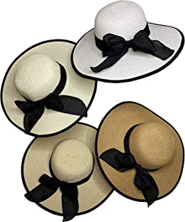 Large Summer Beach Sun Hats For Women Foldable Floppy Travel Packable UV Hat breathable Wide Brim Fashion Hat with thicken...