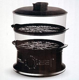 Tefal VC140135 2basket(s) Autonome 900W Noir Vaporisateur 2 Panier Noir Design Rotatif Mécanique 900 W