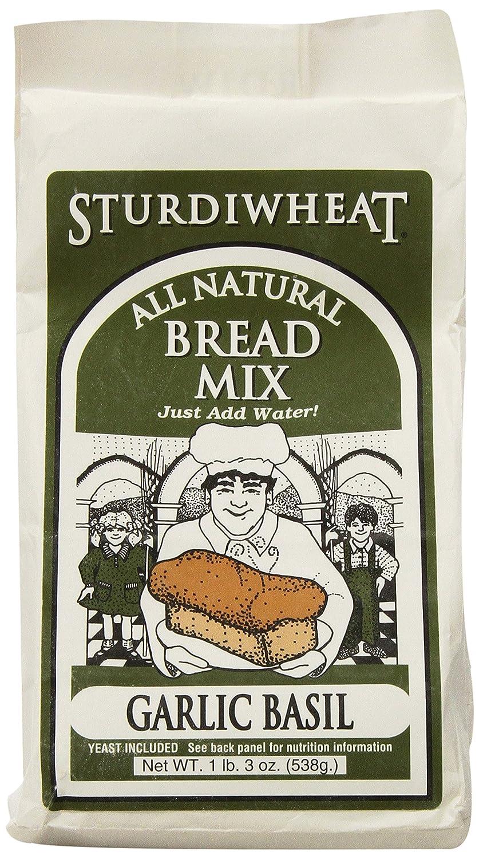Sturdiwheat All Natural Bread San Jose Mall price Mix Basil Garlic Packag 19-Ounce