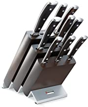 Wüsthof 9865 Knife Block with 9 Sections, Steel, Brown
