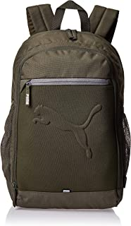 Puma Buzz Backpack Green Bag For Unisex, Size One Size