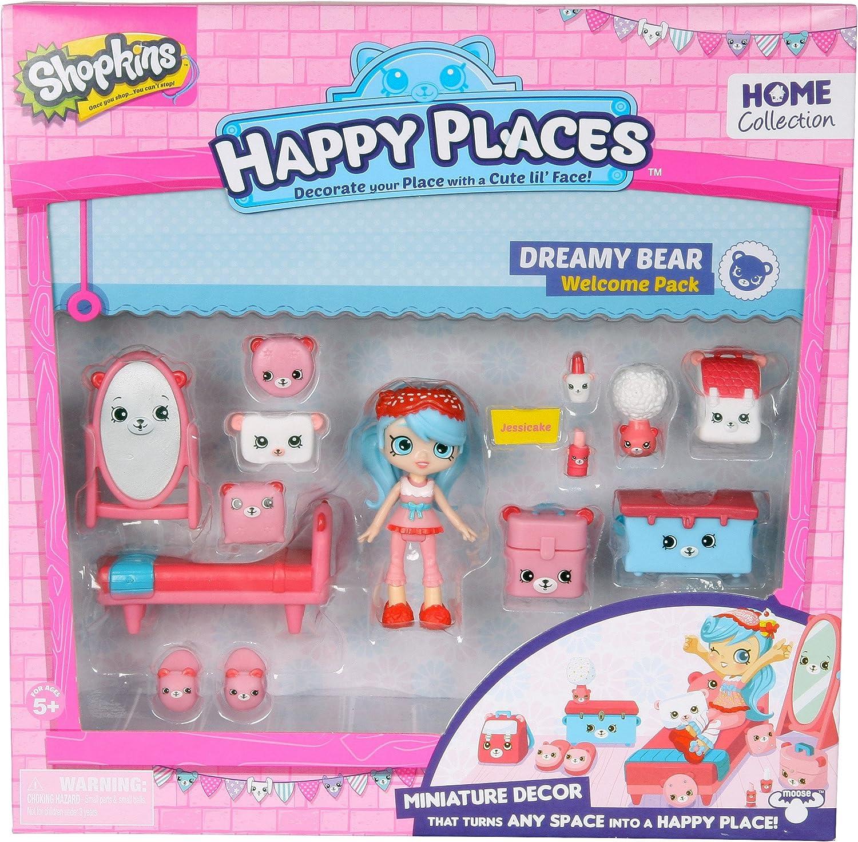 Mejor precio Happy Places Shopkins Welcome Pack Dreamy Dreamy Dreamy Bear  bajo precio