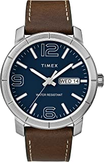Timex Men's Mod44 44mm Leather Strap Watch TW2R64200