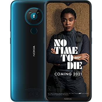 Nokia 5.3 UK Model - Dual SIM - Cyan - 64GB - 4GB RAM