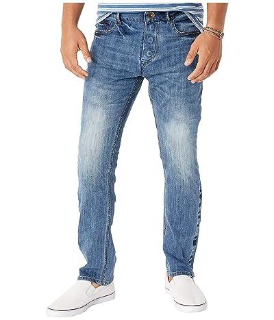 Seven7 able Adaptive Slim Straight Jeans w/ Magnetic Closure in Belmore (Belmore) Men