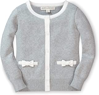 Girls' Long Sleeve Bow Detail Cardigan Sweater
