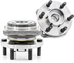 QJZ [2-Pack/Pair] 513109 New Front Wheel Hub and Bearing Assembly for Dodge 1990-1996 Dodge Dakota 4WD Model, Rear Wheel Hub and Bearing Assembly for Dodge 1992-1995 Viper