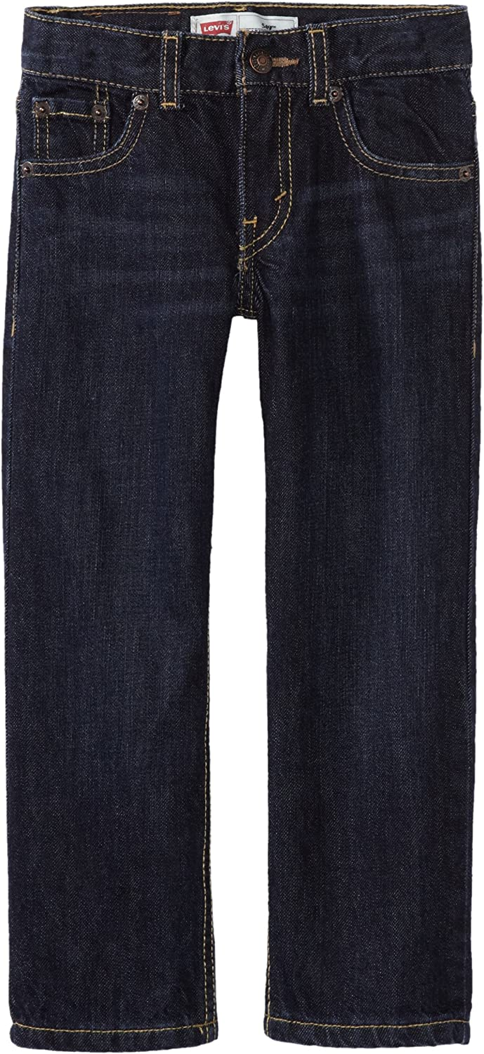 Levi's Boys' Regular Fit Max 66% OFF Genuine Free Shipping Jeans
