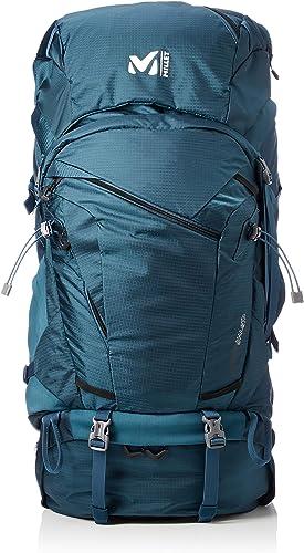 MILLET Unisex-Erwachsene MOUNT SHASTA 65+10 Rucksack, Grün (Emerald), 25x56x55 centimeters
