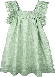 ContiKids Girls Dresses Frill Sleeve Fly Skirt Dress