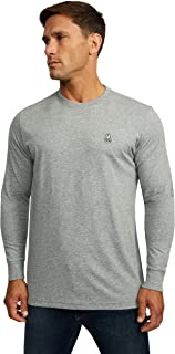 Psycho Bunny Mens Long Sleeve Crew Neck Tee