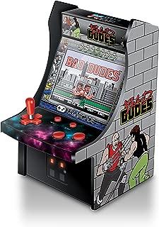 "My Arcade Bad Dudes Micro Player 6"" Collectable Arcade (Renewed)"