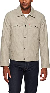 Levi's Men's Suede Touch Trucker Jacket