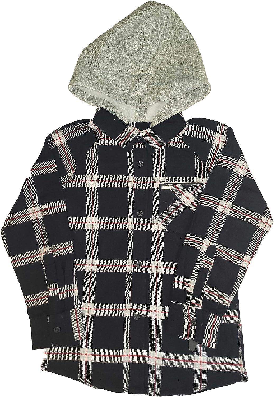 Hurley Boys Flannel w/Hood