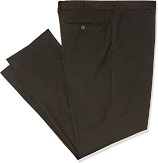 Bracks TRFFB411 Men's Black Self Stripe Trouser