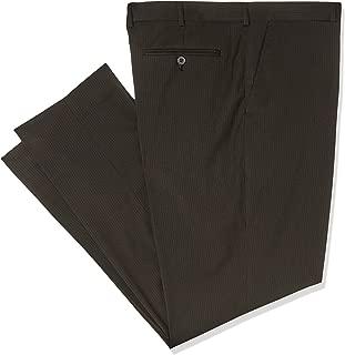 Bracks TRFFB411 Men's Black Self Stripe Trouser