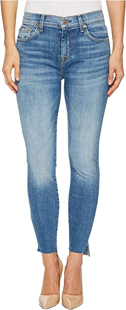 7 For All Mankind - The High-Waist Ankle Skinny w/ Step Hem in Fillmore