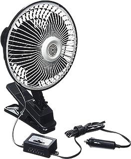 RoadPro C3212A Tragbarer Ventilator 2/Geschwindigkeiten 12/V 25,4/cm