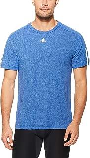 Adidas Men's ID Stadium 3-Stripes T-Shirt