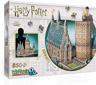 Wrebbit 3D Puzzle Harry Potter 3D Puzzle: Great Hall, 850 Piece