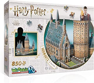 WREBBIT 3D - Harry Potter Hogwarts Great Hall 3D Jigsaw Puzzle - 850Piece