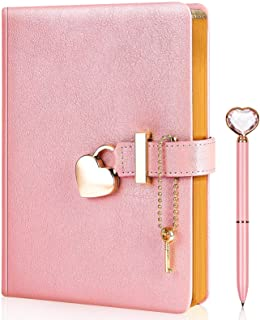 خاطرات قفل شکل قلب با کلید