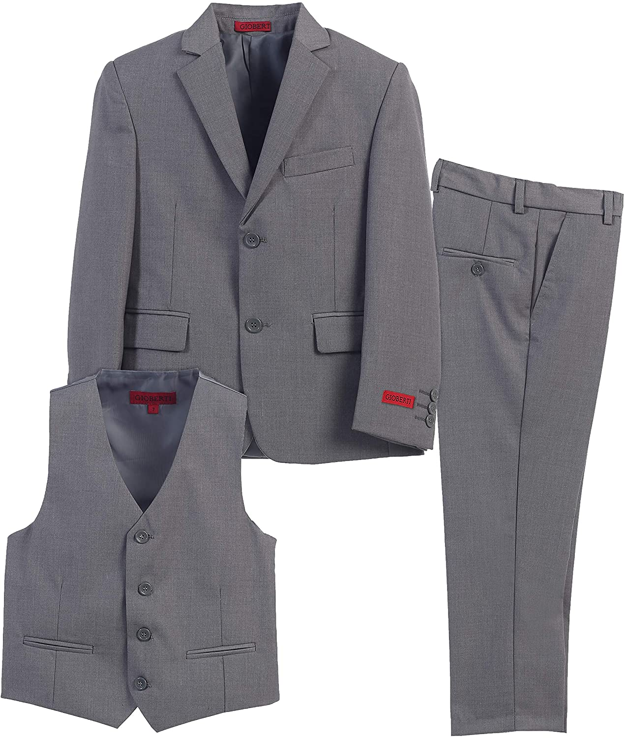 Gioberti Max 70% OFF Boy's Formal Suit Special Campaign Set