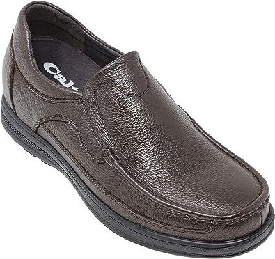 CALTO Stivali di Pelle per Uomo