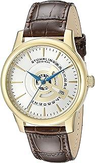 ستوهرلنج ساعة يد للرجال ، كوارتز ، جلد ، 787.03