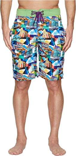 Robert Graham Mambo Woven Swim Boardshorts
