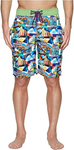 Robert Graham - Mambo Woven Swim Boardshorts