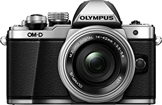 Olympus OM-D E-M10 MARK II 14-42/3.5-5.6 M.zuiko Digital ED EZ Digital Cameras 17.2 Megapixels