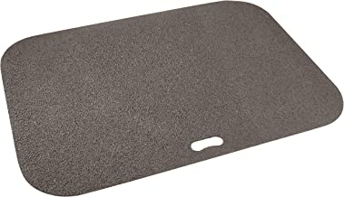 The Original Grill Pad Gray Grill Pad, Rectangle