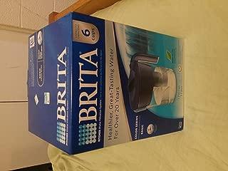 Brita Classic Pitcher, 6 Cup, Navy Blue