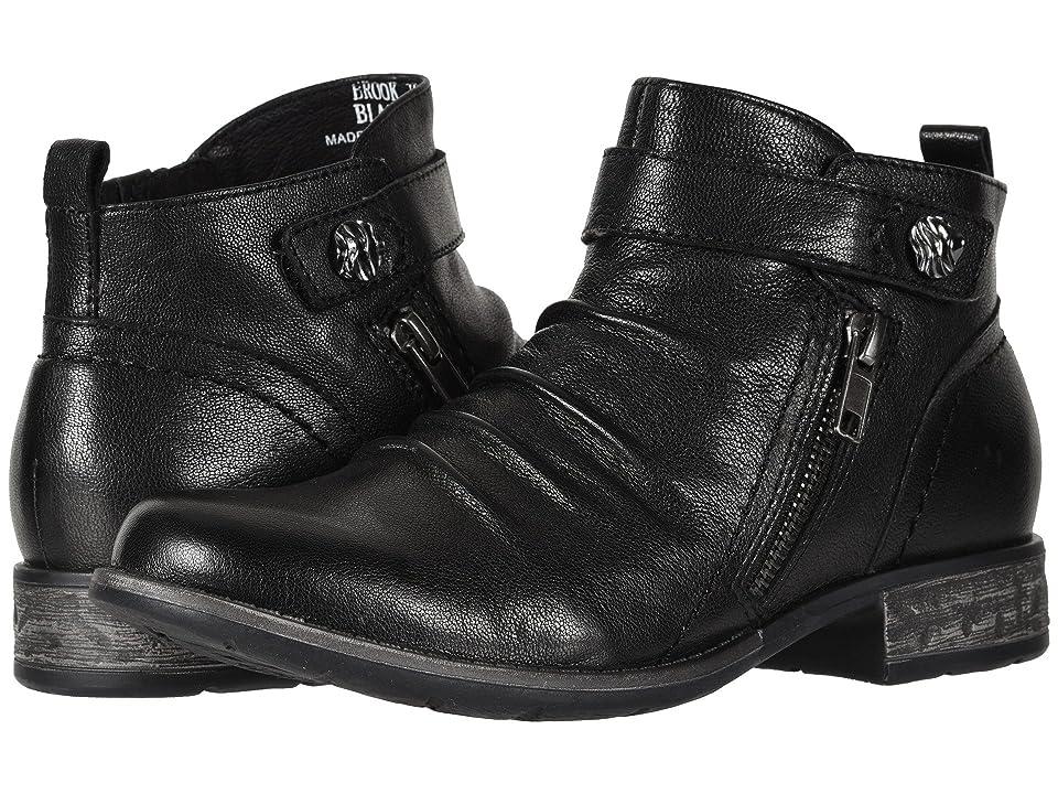 Earth Brook (Black Soft Leather) Women