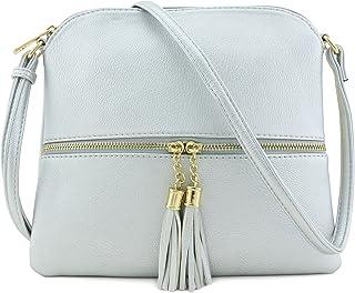 ff2ddc191bf Amazon.com: Silvers - Crossbody Bags / Handbags & Wallets: Clothing ...