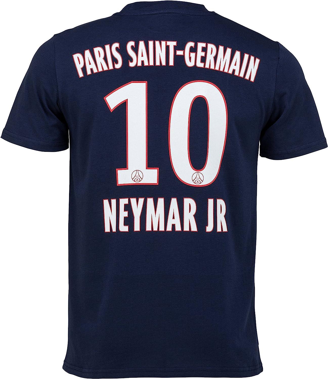 Paris Saint Germain - Maglietta del Paris Saint Germain di Neymar Jr., collezione ufficiale, per bambino/ragazzo