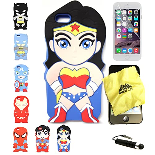 Wonder Woman Magazine Cover iphone case