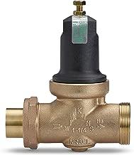 Zurn 114-NR3XLDUC, Lead-Free Double Union Female Copper Sweat Pressure Reducing Valve, 1-1/4