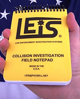 Collision Investigation Field Notepad