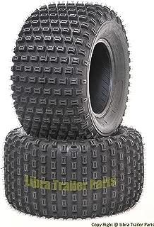 2 New WANDA ATV Tires 22X11-8 4PR P322 Dimple Knobby - 10026