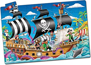 Glow In The Dark Pirate Ship Puzzle