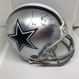 Dez Bryant Signed Dallas Cowboys Mini-Helmet (JSA COA) JSA Witnessed