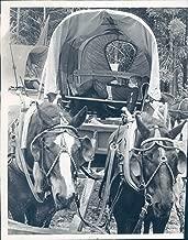 Vintage Photos 1976 Press Photo Travel Richard Cabot Bicentennial Train Pilgrimage Wagon 8x10