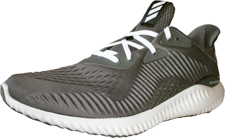 Adidas Men's Alphabounce Em m, Grey Cloud White Core Black, 9.5 M US