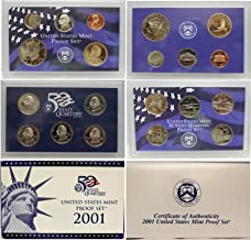 2001 S US Mint Proof Set