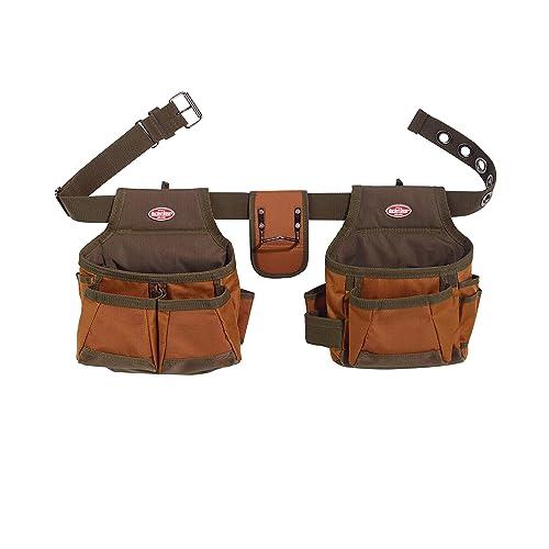 6d8bfbbc7360 Bucket Boss 2 Bag Tool Bag Set in Brown