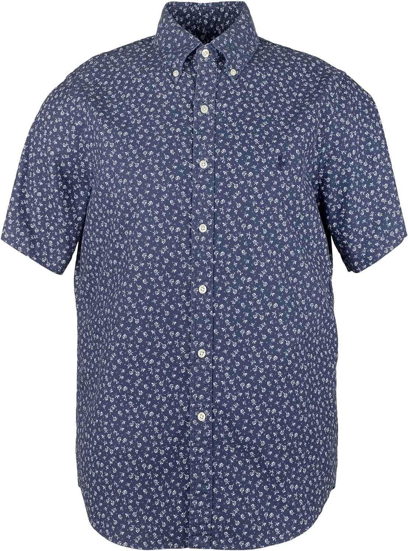 Ralph Lauren Mens Cotton Floral Casual Shirt